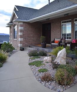 hillside home remodel