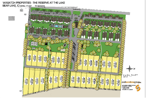 The Reserve at the Bear Lake-Townhome Project