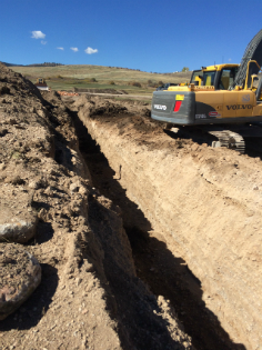 THE RESERVE AT THE BEAR LAKE-WATER LINE AND ROAD PROJECT