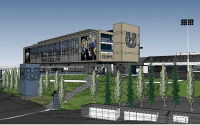 Utah State University Maverick Stadium Press Box
