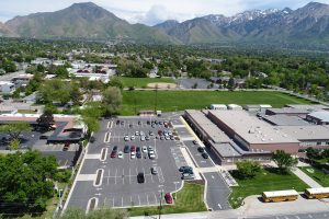 Evergreen Junior High Parking Lot Expansion
