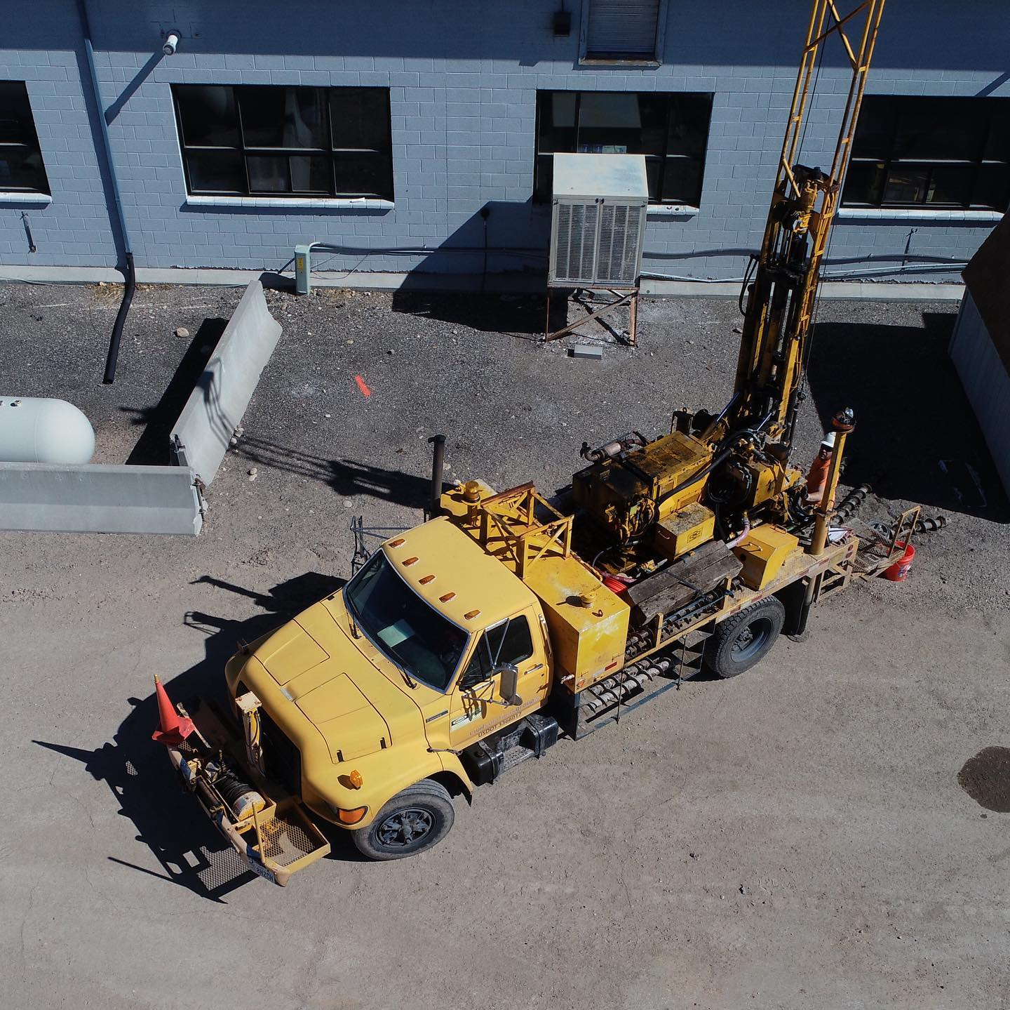 John and the CME 45 out drilling for a geotechnical investigation in Green River, UT